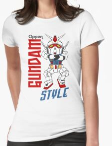Oppan Gundam Style Womens Fitted T-Shirt
