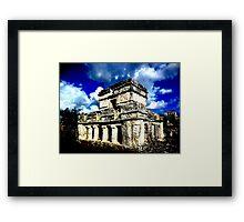 Tulum Ruins Framed Print