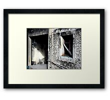 Old Cozumel Building Framed Print
