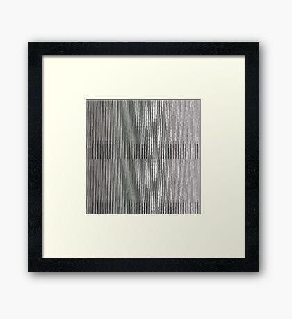 Glitch 1 Framed Print