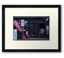 The Entertainer, Fitzroy. Framed Print