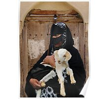 BEDOUIN LADY - OMAN Poster