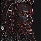 Thorin Oakenshield, Dark King by jos2507