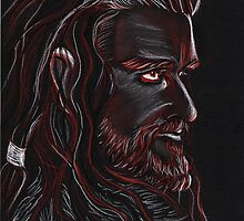 Thorin Oakenshield, Dark King by jos2507