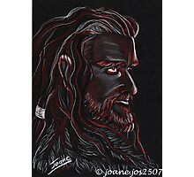 Thorin Oakenshield, Dark King Photographic Print