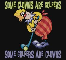 Funny Golfer Kids Clothes