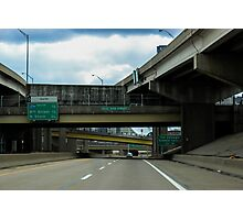 Driving Into Pittsburgh Photographic Print