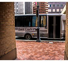 Quest Coach Photographic Print