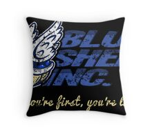 Blue Shell Inc. Throw Pillow