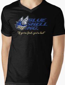 Blue Shell Inc. Mens V-Neck T-Shirt
