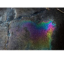 Oil Spill (iii) Photographic Print