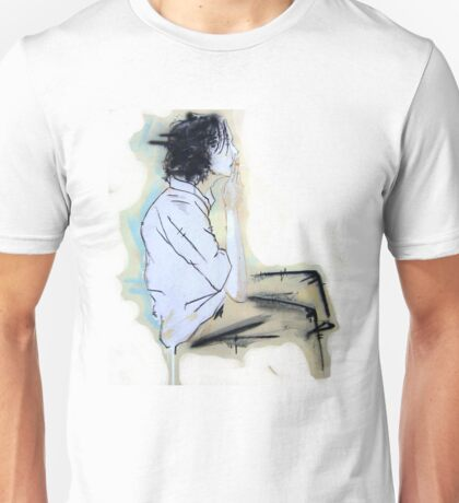 smoking adolescent Unisex T-Shirt
