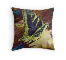 With Wings Throw Pillow