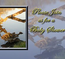 Please Join Us For A Baby Shower Fish by jkartlife