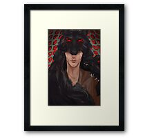 She isnt real Framed Print