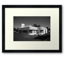 Route 66 Diner Framed Print