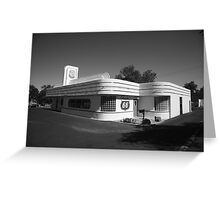 Route 66 Diner Greeting Card