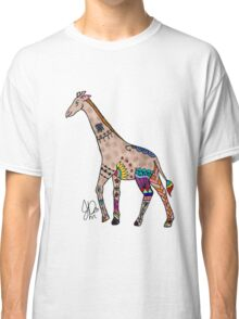 Giraffe in Sharpie  Classic T-Shirt