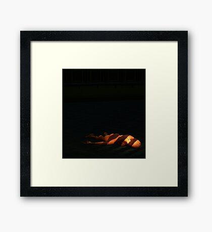 Murder.. Framed Print