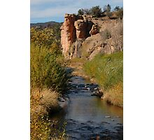 West Fork of the Gila River at the Cliff Dwellings Photographic Print
