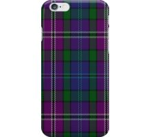 00334 South Lanarkshire District Tartan Fabric Print Iphone Case iPhone Case/Skin
