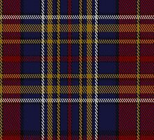00345 Westmeath County, Crest Range District Tartan Fabric Print Iphone Case by Detnecs2013
