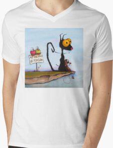 At the Edge of Reason! Mens V-Neck T-Shirt