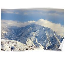 Salt Lake City - Wasatch Mountains Poster