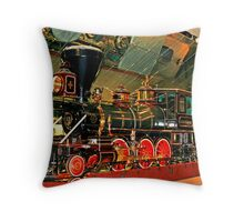 """Virginia and Truckee """"Engine """" Throw Pillow"""