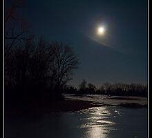 Frozen Moonbeam by Victoria Jostes