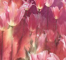 Tall Tulips by Carol  Cavalaris