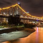 Story Bridge  Brisbane by William Bullimore