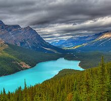 Roof over Peyto by JamesA1