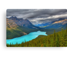Roof over Peyto Canvas Print