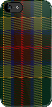 00361 Waterford County District Tartan Fabric Print Iphone Case by Detnecs2013