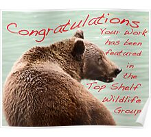 Bear on the Chilkoot Poster