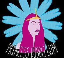 Princess Bubblegum by jwalkingdesigns
