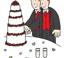 Two grooms. by KateTaylor