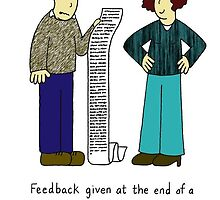 Feedback at the end of a relationship. by KateTaylor