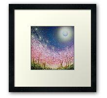 Sakura Night Framed Print