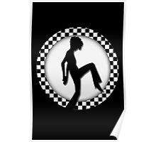 ♥•.¸¸.ஐCHECKIN PICTURE WITH CHECKER BOARD FRAME♥•.¸¸.ஐ Poster