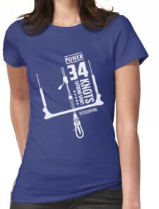 Power 34 Knots Kitesurfing Womens Fitted T-Shirt