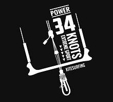 Power 34 Knots Kitesurfing Unisex T-Shirt