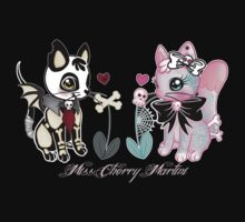 Dead Kitty And Tattooed Kitty by Miss Cherry  Martini