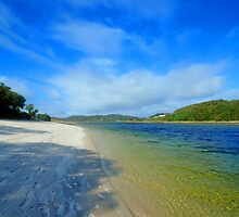 Silver Sands of Morar by Chris Thaxter