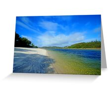 Silver Sands of Morar Greeting Card