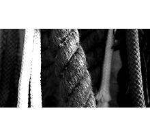 ropes Photographic Print