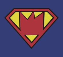 Train - Superman T-shirt - Crown Logo by ILoveTrain