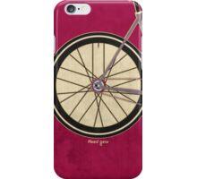 Single Speed Bicycle iPhone Case/Skin