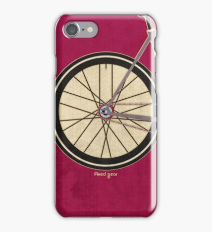 Single Speed Bicycle iPhone Case/Skin